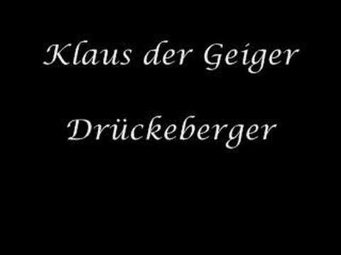 Klaus der Geiger  Drückeberger