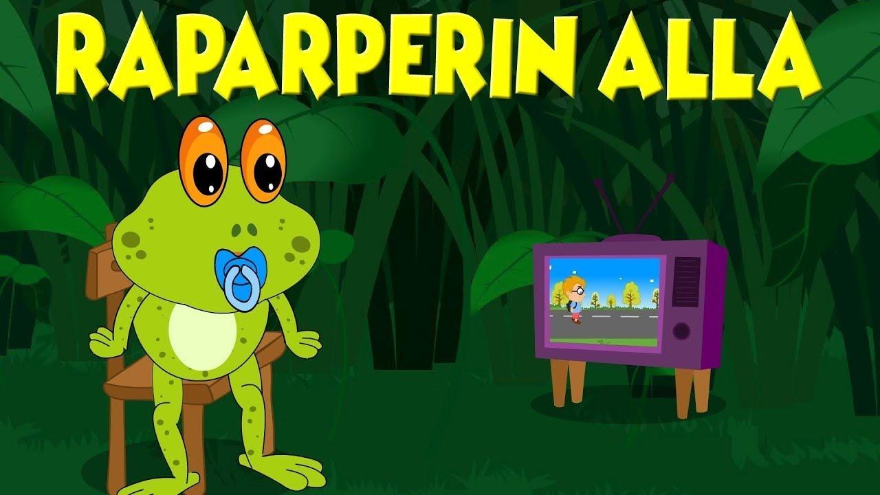 Raparperin alla - Lastenlauluja suomeksi
