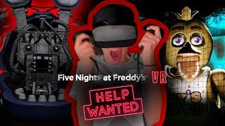 JAG KLARAR INTE AV MER... | Five Nights at Freddy's VR: Help Wanted (Oculus Rift S)