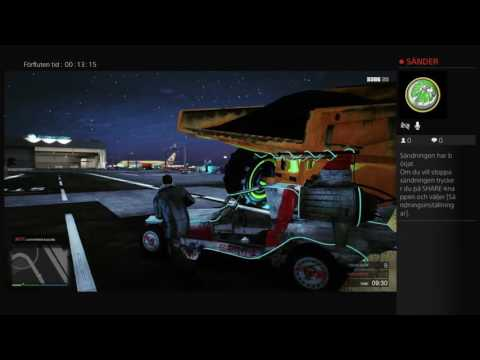 Grand Theft Auto V modded missions with swedish players. On swedish