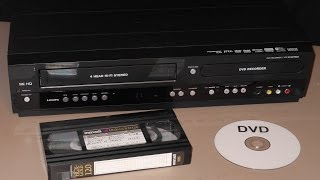 VHS transfer to DVD using combo recorder