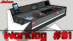 "PC Desk Projekt ""Spike"" | Worklog #01 | Deutsch | JRelooc"
