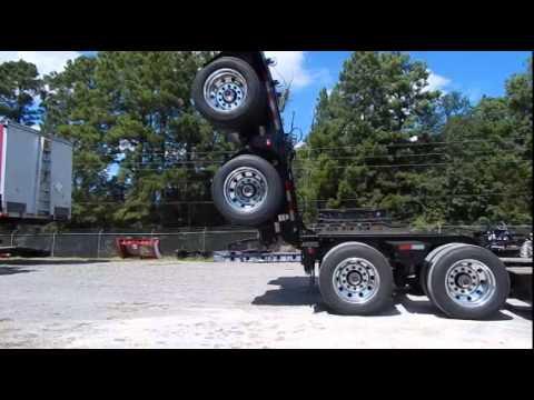 2014 Etnyre 55ton Hydraulic 30 Deck Hydraulic Flip Axle