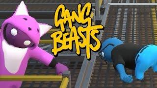 AKTA SVANSEN! | Gang Beasts Online Beta | figgehn vs Whippit | #2