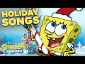 Gambar cover Top 5 SpongeBob Christmas Songs 🎄