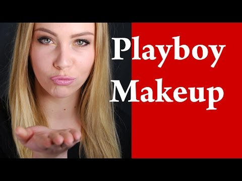 PLAYBOY BUNNY Sexy Makeup Tutorial for Blondes with green eyes