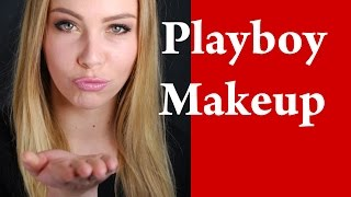 PLAYBOY BUNNY Sexy Makeup Tutorial for Blondes with green eyes Thumbnail