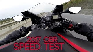 Testing my New CBR 1000RR on Street ( SC 77 ) 2017