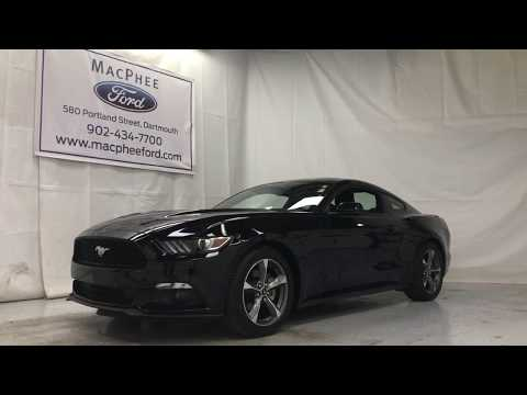 Black 2015 Ford Mustang Fastback EcoBoost - MacPhee Ford