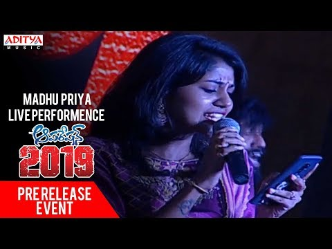 Madhu Priya Live Performence @ Operation 2019 Pre Release Event || Srikanth, Deeksaha Panth