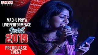 Madhu Priya Live Performence @ Operation 2019 Pre Release Event || Srikanth, Deeksaha Panth