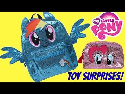 MY LITTLE PONY Backpack Toy Surprises | Toys Unlimited