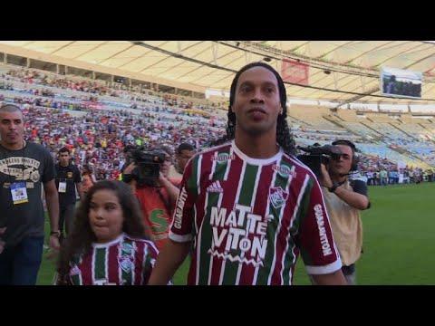 Football: Ronaldinho retires from football