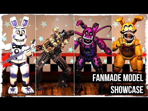 [FNAF/SFM] Fanmade Model Showcase