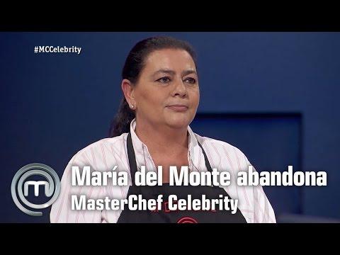María del Monte abandona  | MasterChef Celebrity | Programa 2