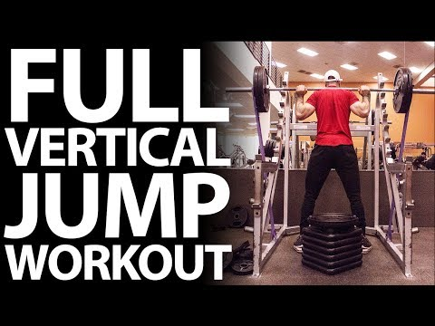 How To Increase Vertical Jump (5 Weight Training Exercises to Jump Higher and Dunk a Basketball)