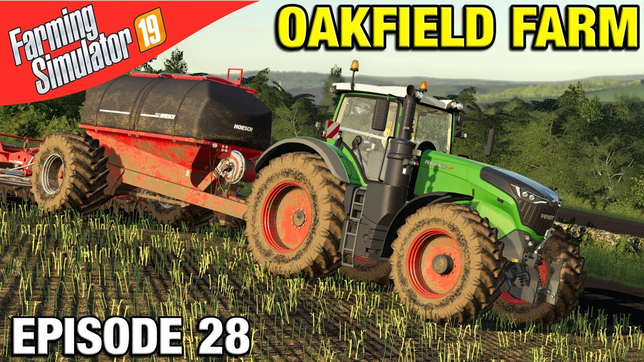 TIME FOR A NEW TRACTOR Farming Simulator 19 Timelapse - Oakfield Farm FS19  Episode 28