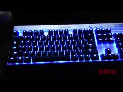How To Program Lights - Corsair Vengeance K70 Keyboard