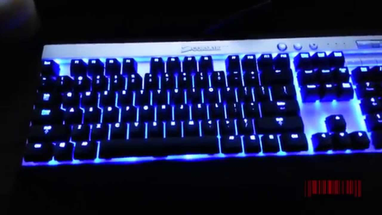 How To Program Lights - Corsair Vengeance K70 Keyboard