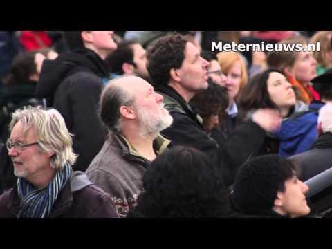 Zon verduistering in Groningen