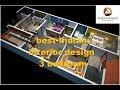 best Indian interior design | 3 bedroom 3d house floor plan ideas