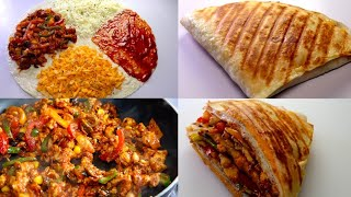 Chicken Pizza Wrap By Recipes of the World