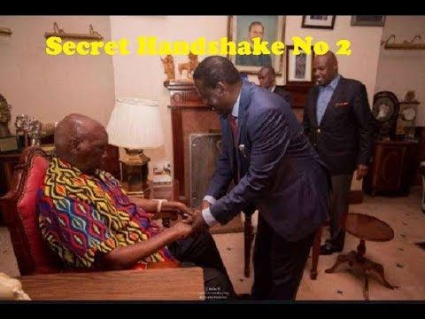 Raila's Second Secret Handshake