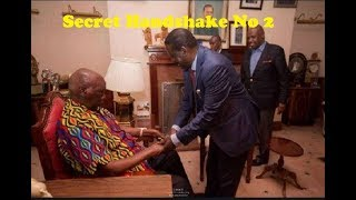 Raila's Second Secret Handshake