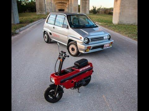 Honda City Turbo II cold start, idle, rev/boost