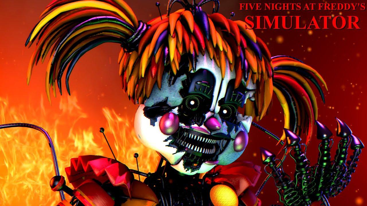 Five Nights at Freddy's Simulator | We're Back BABY! Scrap Baby Attacks! [Part 12]
