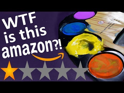 I can't with these...Trying Amazon's LOWEST RATED Art Supplies