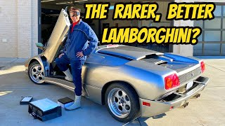 homepage tile video photo for My Lamborghini Diablo VT Roadster Is A Slightly Less Terrible Car (That's Shooting Way Up In Value!)