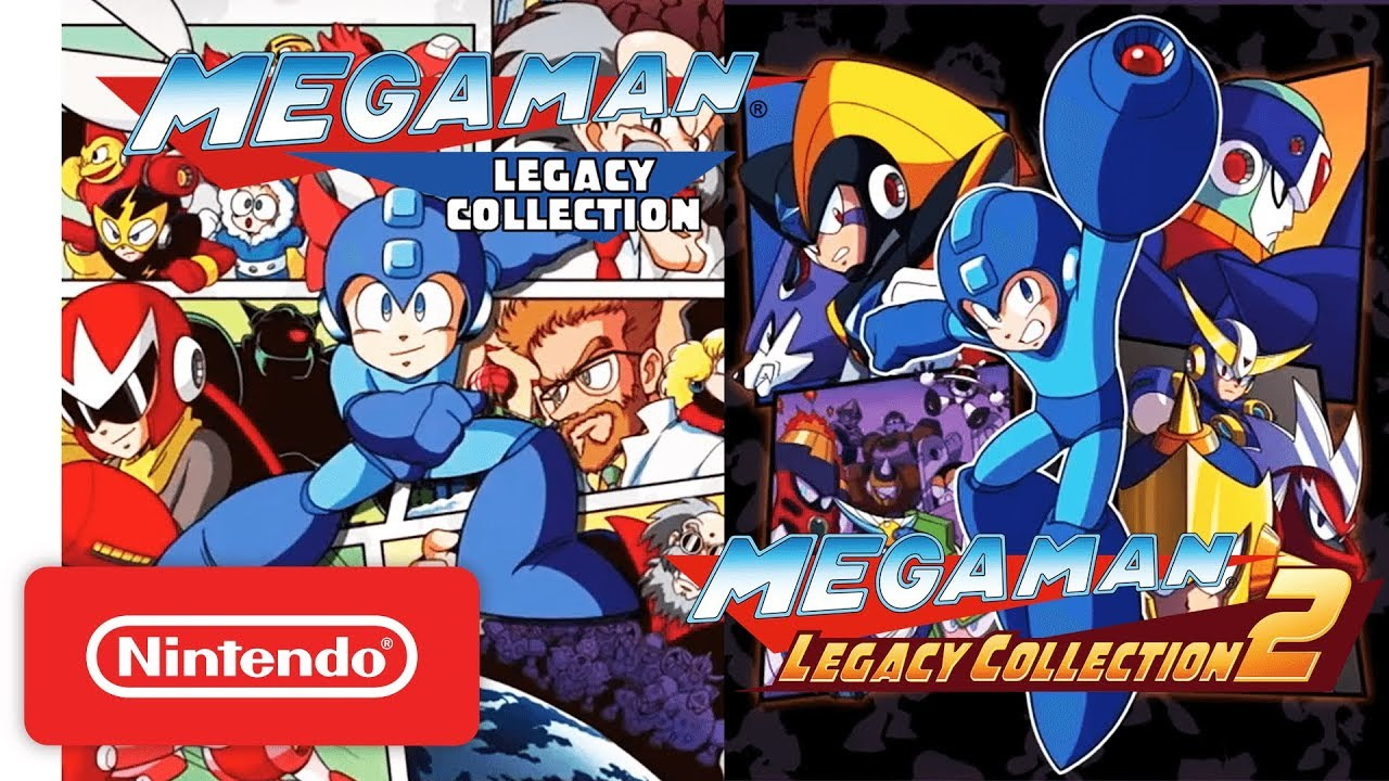 Mega Man Legacy Collections Are More Great Old Games on the