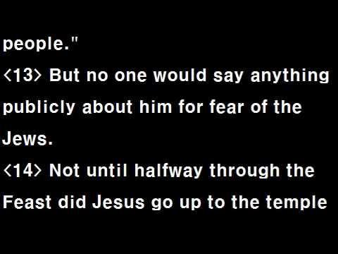 Text Audio Bible (T A Bible 101 / NIV) : John 1~10