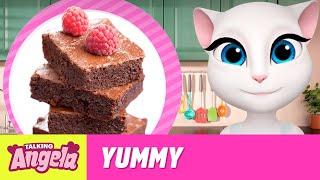 Talking Angela - Chocolate Brownies (Yummy Recipe)