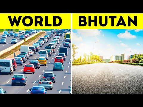 Amazing Bhutan: Free Healthcare, No Homeless People, No Traffic Lights