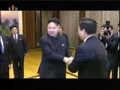 Kim Jong Un China Delegation 2012