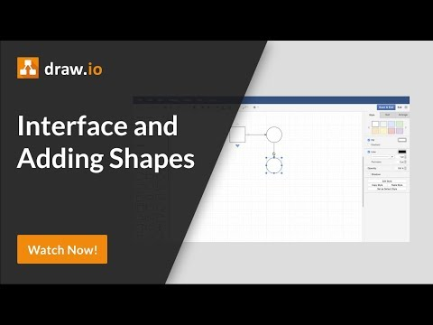 How To Use The Draw.io Interface In Atlassian Confluence And Add Shapes To Your Diagram