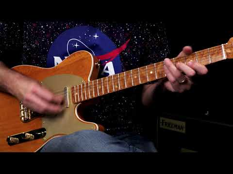 Fender Custom Shop Wildwood 10 Artisan Telecaster - Figured Mahogany  •  SN: CZ528422