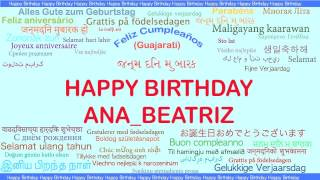 AnaBeatriz   Languages Idiomas - Happy Birthday