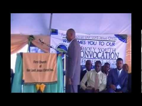 PASTOR GINO JENNINGS,YOUTH  CONVOCATION 2013,PRISON OVAL SPANISH TOWN JAMAICA