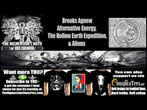 Brooks Agnew | Alternative Energy, The Hollow Earth Expedition, & Aliens
