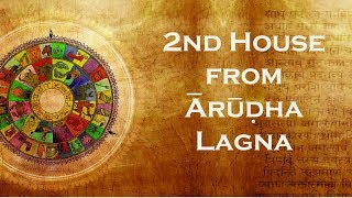 2nd house from Arudha Lagna - California Vyasa SJC Class 11.19.2006