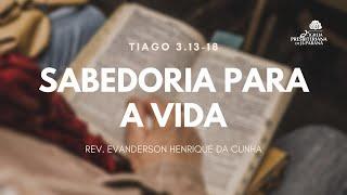 Estudo Bíblico - A Sabedoria do Alto