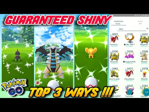 Top 3 Tricks To Get Shiny Pokemons | How To Get Shiny Pokemons In Pokemon Go | Shiny Hack Pokemon Go