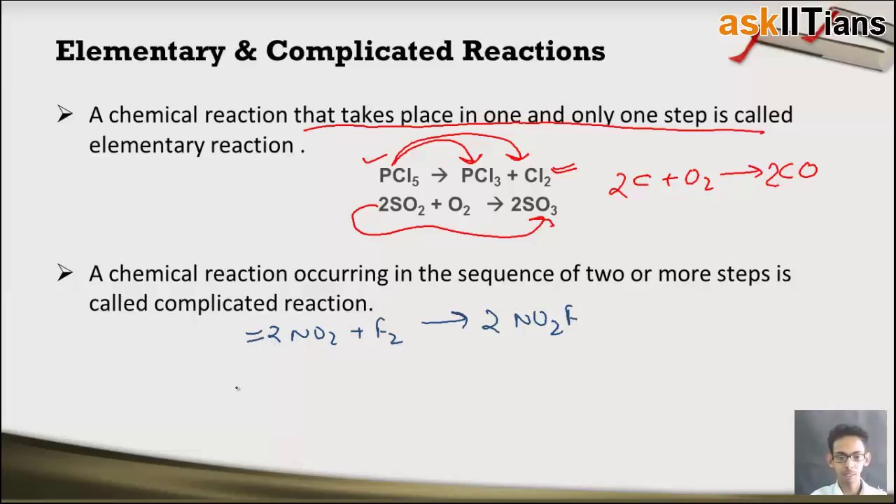 Molecularity & Order of Reaction - Study Material for IIT-JEE