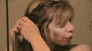 french twist rope braid headband hairstyle easy pretty