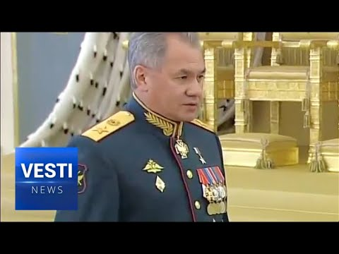 """Our Weapons Capabilities Will Increase Dramatically"": Putin and Shoigu Address the New Graduates"