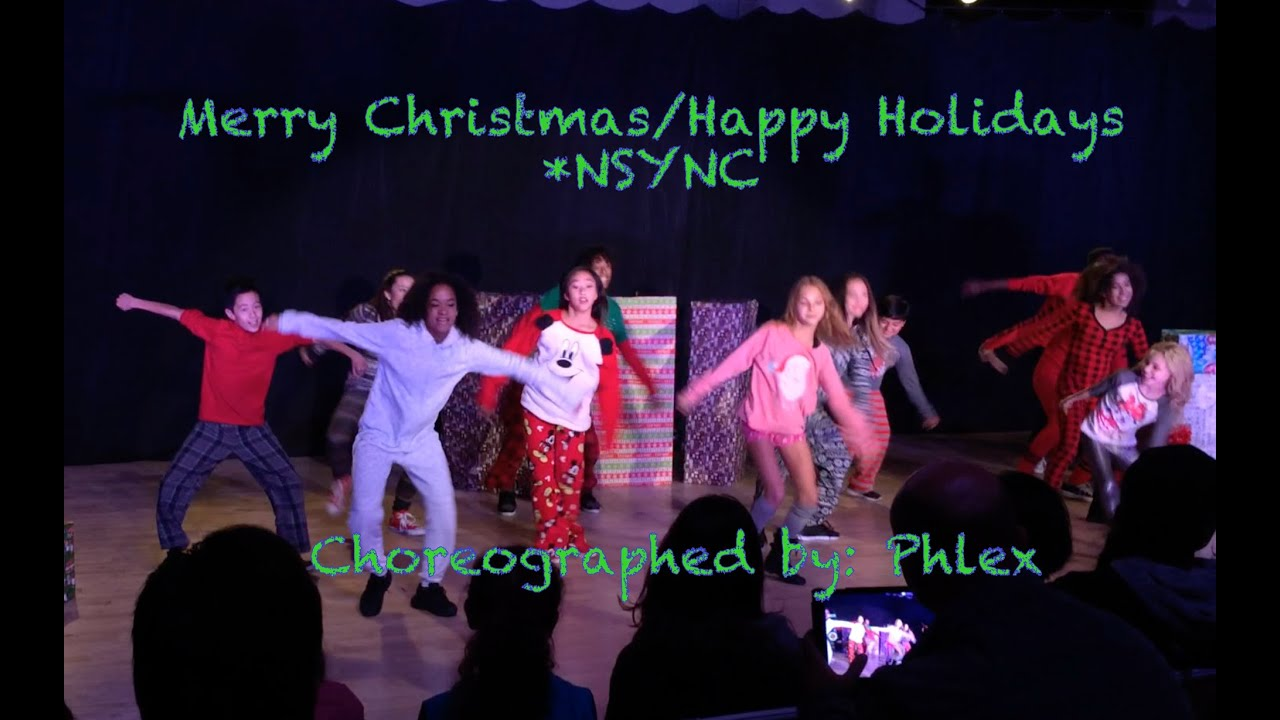 Mitch Hip Hop - NSYNC Merry Christmas Happy Holidays - YouTube