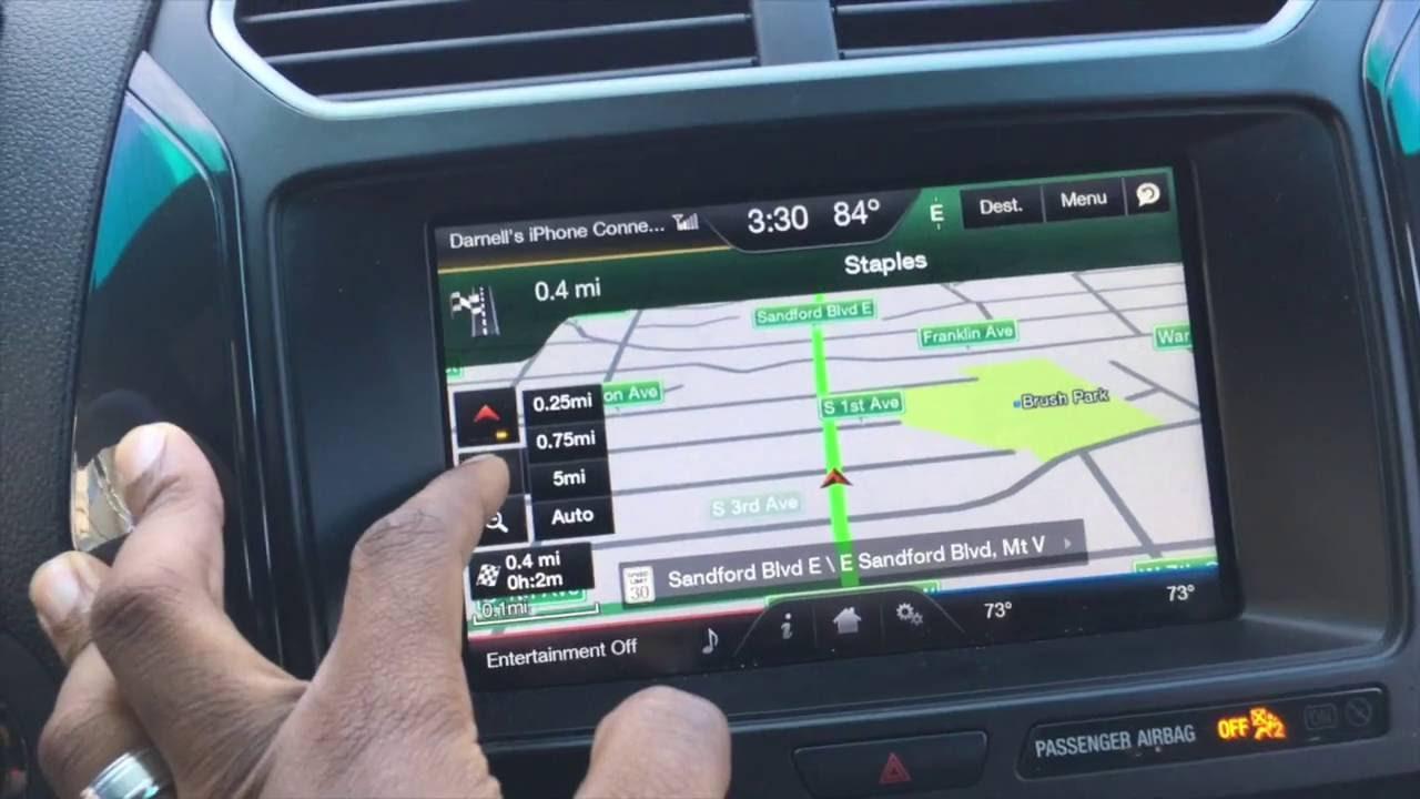 2016 Ford Explorer Xlt Navigation